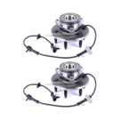 Pair of Front Hubs - K1500 Models