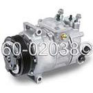 Volkswagen Eos                            Reman with ClutchA/C Compressor