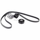 BMW Serpentine Belt and Tensioner Kit