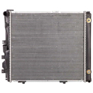 Mercedes_Benz 300E                           Radiator
