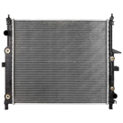 Mercedes_Benz ML320                          Radiator
