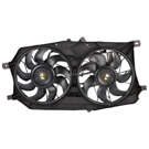 Mercury Montego                        Cooling Fan Assembly