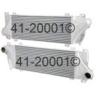 Mercedes Benz Intercooler