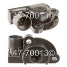 Buick Throttle Position Sensor
