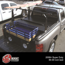 Suzuki Equator                        Bed Rack