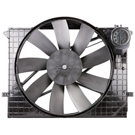 Mercedes Benz Cooling Fan Assembly