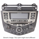 Radio Single Disc CD Player with Face Code 2XN1 [OEM Number 39101-S9A-A110-M1]